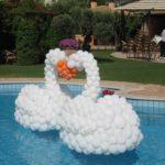 Damycart sculture con palloncini